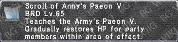 Army's Paeon V (Scroll) description.png