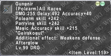 Gungnir (Level 119 II) description.png