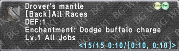 Drover's Mantle description.png