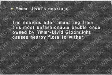Ymmr-Ulvid's necklace