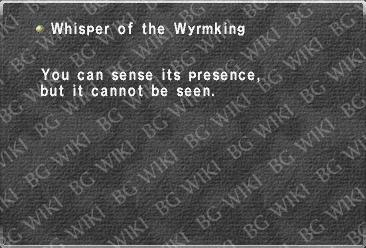 Whisper of the Wyrmking