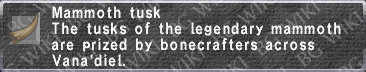 Mammoth Tusk description.png