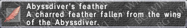 Abyssdiver Feather description.png