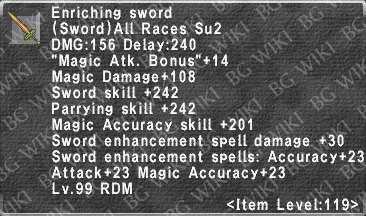 Enriching Sword description.png