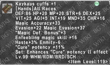Kaykaus Cuffs +1 description.png