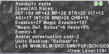 Assiduity Pants description.png