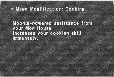 Mega Moglification: Cooking