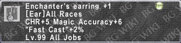 Enchntr. Earring +1 description.png