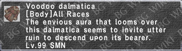 Voodoo Dalmatica description.png