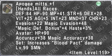 Apogee Mitts +1 description.png