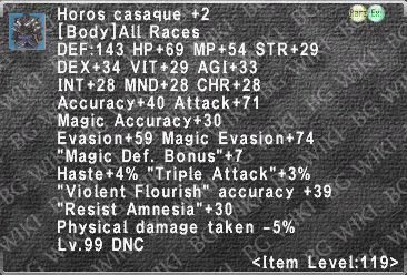 Horos Casaque +2 description.png