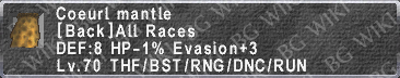 Coeurl Mantle description.png