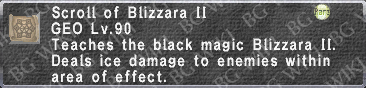 Blizzara II (Scroll) description.png