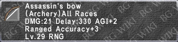 Assassin's Bow description.png