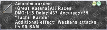 Amanomurakumo (Level 90) description.png
