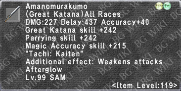 Amanomurakumo (Level 119 II) description.png