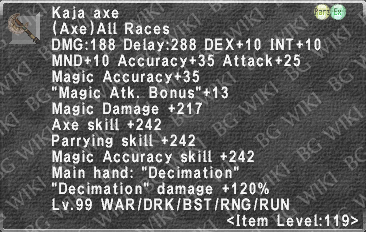 Kaja Axe description.png