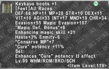 Kaykaus Boots +1 description.png