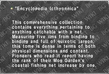 """Encyclopedia Icthyonnica"""