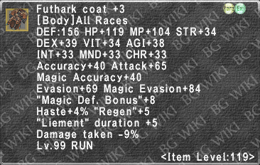 Futhark Coat +3 description.png