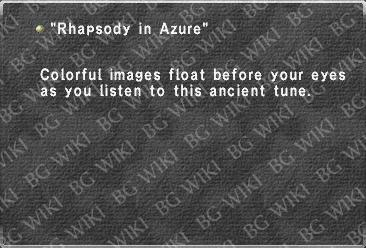 """Rhapsody in Azure"""