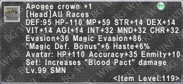 Apogee Crown +1 description.png