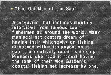 """The Old Men of the Sea"""