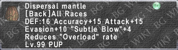 Dispersal Mantle description.png