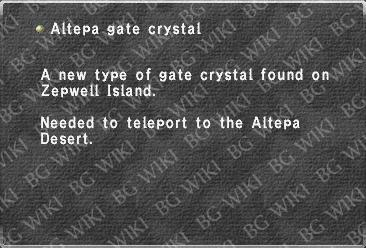Altepa gate crystal