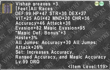 Vishap Greaves +3 description.png