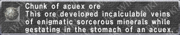 Acuex Ore description.png