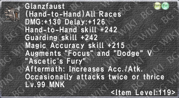 Glanzfaust (Level 119) description.png