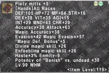 Piety Mitts +3 description.png