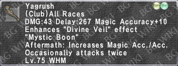 Yagrush (Level 75) description.png