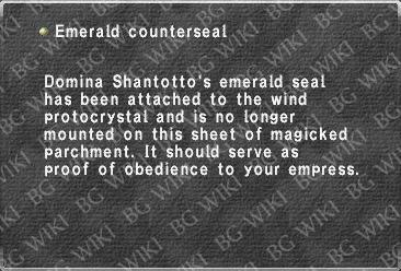 Emerald counterseal