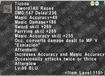 Tizona (Level 119 III) description.png