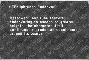 """Enlightened Endeavor"""