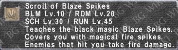 Blaze Spikes (Scroll) description.png