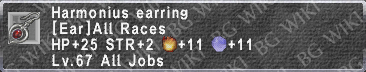 Harmonius Earring description.png