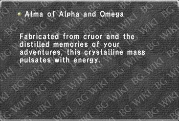 Atma of Alpha and Omega