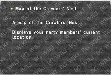 Map of the Crawlers' Nest