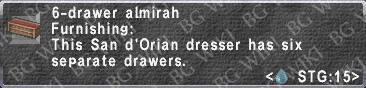 6-Drawer Almirah description.png
