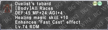 Duelist's Tabard description.png