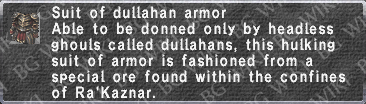Dullahan Armor description.png