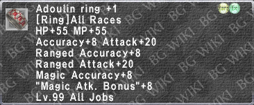 Adoulin Ring +1 description.png