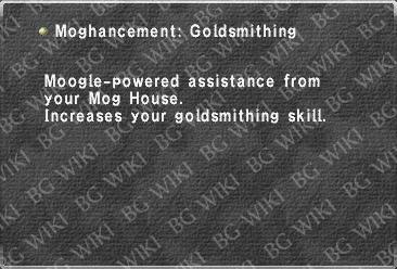 Moghancement: Goldsmithing