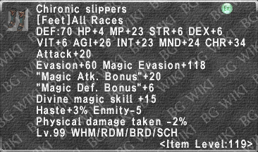 Chironic Slippers description.png