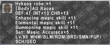 Hyksos Robe +1 description.png
