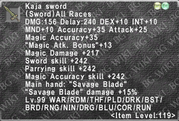 Kaja Sword description.png