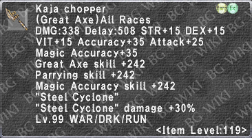 Kaja Chopper description.png